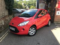 USED 2012 62 FORD KA 1.2 EDGE 3d 69 BHP
