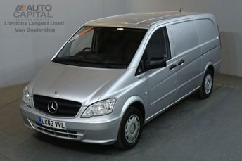 2013 MERCEDES-BENZ VITO 2.1 116 CDI BLUEEFFICIENCY RWD 5d AUTO 163 BHP LWB VAN REAR LIFT £9250.00