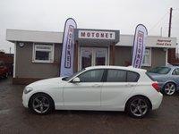 2012 BMW 1 SERIES 2.0 118D SPORT 5DR DIESEL 141 BHP+++£30 ROAD TAX+++ £8888.00