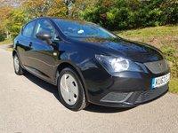 2013 SEAT IBIZA 1.2 CR TDI ECOMOTIVE S AC 5d 74 BHP £5495.00