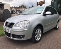 USED 2009 59 VOLKSWAGEN POLO 1.2 MATCH 5d 59 BHP VERY BRIGHT CLEAN CAR: