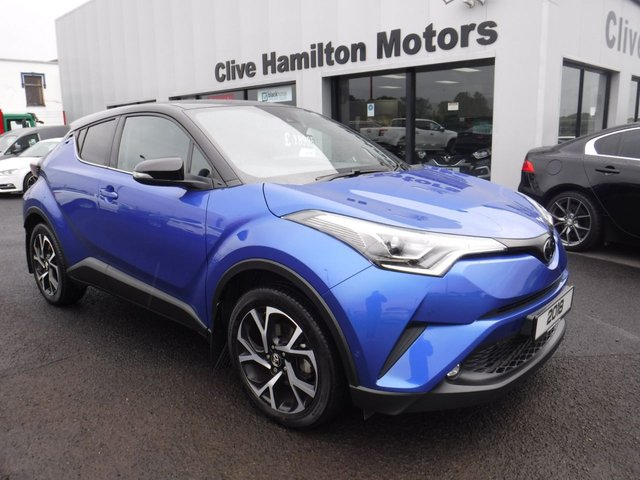 View our TOYOTA CHR
