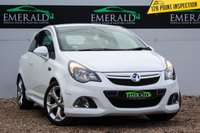 USED 2013 13 VAUXHALL CORSA 1.6 VXR 3d 189 BHP £0 DEPOSIT FINANCE AVAILABLE, AIR CONDITIONING, CLIMATE CONTROL, CRUISE CONTROL, DAB RADIO, DAYTIME RUNNING LIGHTS, FULL RECARO LEATHER UPHOLSTERY, STEERING WHEEL CONTROLS, TRIP COMPUTER