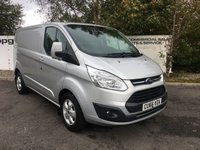 USED 2017 66 FORD TRANSIT CUSTOM  290 2.0 130 BHP LIMITED L1 H1 **CHOOSE FROM 70 VANS**