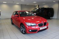 2015 BMW 1 SERIES 1.5 118i Sport Sports Hatch (s/s) 5dr Hatchback Petrol Automatic £13985.00