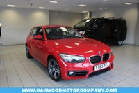 USED 2015 65 BMW 1 SERIES 1.5 118i Sport Sports Hatch (s/s) 5dr Hatchback Petrol Automatic