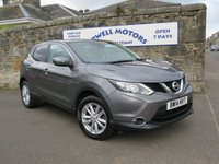 USED 2014 14 NISSAN QASHQAI 1.2 ACENTA PREMIUM DIG-T 5d 113 BHP FULL NISSAN SERVICE HISTORY+SATELLITE NAVIGATION