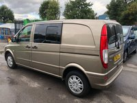 2012 MERCEDES-BENZ VITO 2.1 CDI 110 DUALINER, 6 SEATER, TWIN SIDE DOORS, CRUISE, BTOOTH, ALLOYS  £8995.00