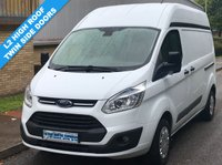 USED 2015 15 FORD TRANSIT CUSTOM TREND L2H2 310 LWB HIGH ROOF 2.2 125BHP 1 Owner, Full Service History