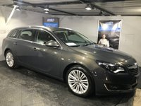 USED 2015 15 VAUXHALL INSIGNIA 2.0 TECH LINE CDTI ECOFLEX S/S 5d 167 BHP Bluetooth : Satellite Navigation  :  DAB Radio  :  Part leather upholstery  :  Front + rear parking sensors : Fully stamped Vauxhall main dealer service history