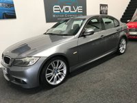 USED 2009 59 BMW 3 SERIES 2.0 318I M SPORT BUSINESS EDITION 4d 141 BHP FMDSH! NEW MOT! SAT-NAV! BUSINESS EDITION!