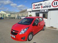 USED 2012 62 CHEVROLET SPARK 1.0 PLUS 67 BHP £18 PER WEEK, NO DEPOSIT - SEE FINANCE LINK BELOW