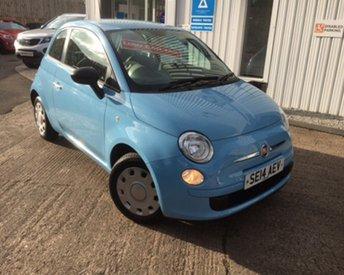 2014 FIAT 500 1.2 POP 3d 69 BHP £SOLD