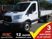 2015 FORD TRANSIT TIPPER 350 L2 RWD DRW 1-Stop 125ps £12500.00