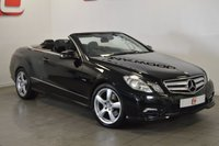 USED 2010 10 MERCEDES-BENZ E CLASS 3.0 E350 CDI SPORT CONVERTIBLE 231 BHP LOW MILES + LEATHER + NAV + SERVICE HISTORY