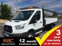 USED 2016 16 FORD TRANSIT TIPPER 350 L2 RWD DRW 1-Stop 125ps 1 Stop Body DRW Beacon/Towbar