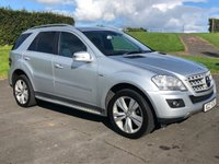 USED 2010 MERCEDES-BENZ M CLASS 3.0 ML350 CDI BLUEEFFICIENCY SPORT AUTO 231 BHP BEAUTIFUL JEEP THROUGHOUT, FULL DEALER HISTORY