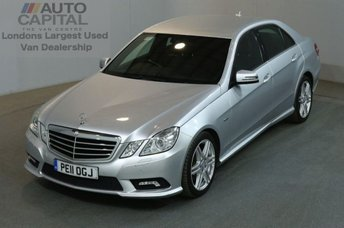 2011 MERCEDES-BENZ E CLASS 2.1 E220 CDI BLUEEFFICIENCY SPORT 4d 170 BHP AMG AUTO AIR CON CAR £8990.00