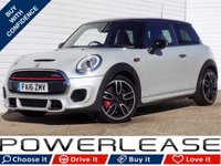USED 2016 16 MINI HATCH JOHN COOPER WORKS 2.0 JOHN COOPER WORKS 3d 228 BHP SAT NAV BLUETOOTH DAB 1 OWNER