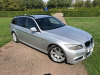 2010 BMW 3 SERIES 2.0 320D M SPORT TOURING 5d AUTO 181 BHP Full Service History MOT 08/19 £6849.00