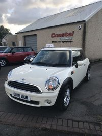 2010 MINI HATCH ONE 1.4 ONE 3d 94 BHP £4595.00