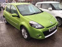 USED 2010 10 RENAULT CLIO 1.6 INITIALE TOMTOM VVT 5d AUTO 110 BHP Automatic, 5 door, 55000 miles, leather, alloys, sat/nav. Superb.