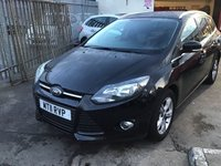 USED 2011 11 FORD FOCUS 1.6 ZETEC TDCI 5d 113 BHP , usefull duel purpose diesel estate, low road tax, superb economy,