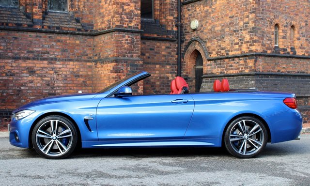 2016 66 BMW 4 SERIES 2.0 420D M SPORT 2d AUTO 188 BHP