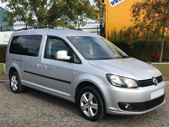 2013 VOLKSWAGEN CADDY MAXI 1.6 C20 LIFE TDI 7 Seat WAV DISABLED / WHEELCHAIR / CONVERSION  £9950.00