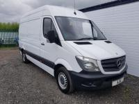 USED 2015 65 MERCEDES-BENZ SPRINTER 2.1 313 CDI MWB 15 MONTH WARRANTY, BLUETOOTH