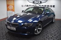 USED 2009 59 BMW 6 SERIES 4.8 650i Sport 2dr EXTREMELY RARE SPEC,FBMWSH,