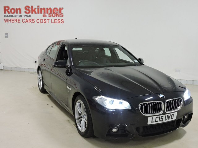 View our 2015 15 BMW 5 SERIES 2.0 520D M SPORT 4d AUTO 188 BHP