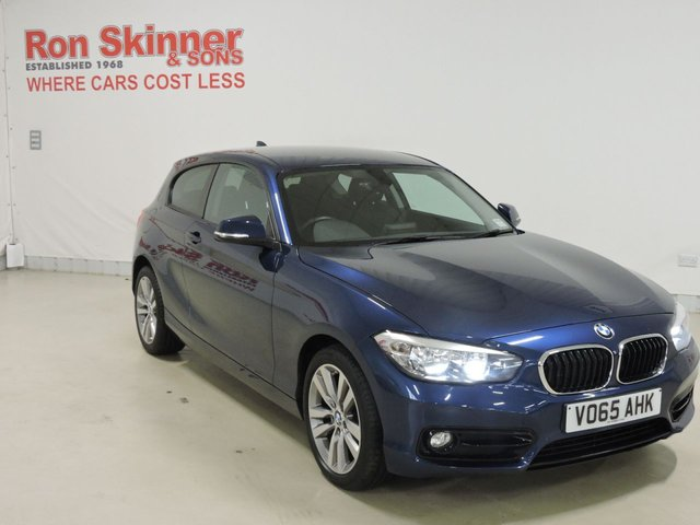 View our 2015 65 BMW 1 SERIES 1.5 116D SPORT 3d 114 BHP