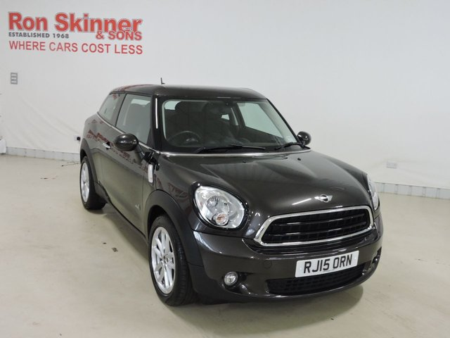 View our 2015 15 MINI PACEMAN (109)     1.6 COOPER ALL4 3d 121 BHP