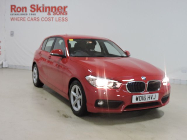 View our 2016 16 BMW 1 SERIES (67) 1.5 116D ED PLUS 5d 114 BHP