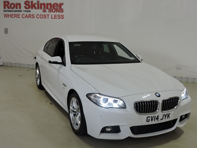View our 2014 14 BMW 5 SERIES 2.0 520D M SPORT 4d AUTO 181 BHP