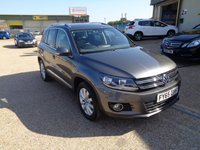 2015 VOLKSWAGEN TIGUAN 2.0 MATCH TDI BLUEMOTION TECHNOLOGY 5d 148 BHP £14995.00