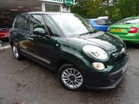 USED 2014 14 FIAT 500L 1.2 MULTIJET LOUNGE DUALOGIC 5d AUTOMATIC 85 BHP Low Mileage, Serviced by ourselves, One Previous Owner, MOT until July 2019, Automatic, Diesel, Excellent fuel economy! Only £20 Road Tax!