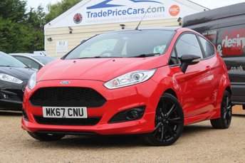 2017 FORD FIESTA 1.0 ST-LINE RED EDITION 3d 139 BHP £11950.00