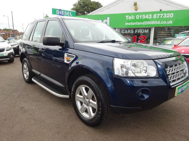 USED 2007 57 LAND ROVER FREELANDER 2.2 TD4 GS 5d AUTO 159 BHP AUTOMATIC DIESEL.....TEST DRIVE TODAY CALL 01543 877320
