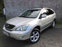 2004 LEXUS RX 3.0 300 SE 5d AUTO 202 BHP £3495.00