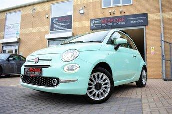 2015 FIAT 500 1.2 LOUNGE 3 DOOR £7395.00