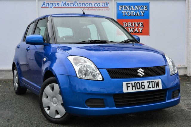 2006 06 SUZUKI SWIFT 1.3 GL 5d Hatchback with Unbelievable Low Mileage and Fully Documented Service History