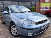 USED 2005 05 FORD FOCUS 1.6 ZETEC 5d 99 BHP