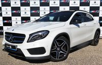 USED 2014 64 MERCEDES-BENZ GLA-CLASS 2.0 GLA250 4MATIC AMG LINE PREMIUM PLUS 5d AUTO 211 BHP