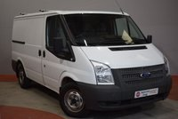 2013 FORD TRANSIT 2.2 300 Low Roof SWB Twin Side Doors 1 Owner Service History £7490.00