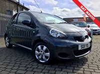 USED 2011 11 TOYOTA AYGO 1.0 VVT-I GO 3d 67 BHP PRICE INCLUDES A 6 MONTH RAC WARRANTY, 1 YEARS MOT WITH 12 MONTHS FREE BREAKDOWN COVER