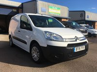 2015 CITROEN BERLINGO 1.6 625 ENTERPRISE L1 HDI 1d 74 BHP £5500.00