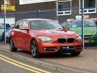 2012 BMW 1 SERIES 1.6 116I SPORT TURBO 5d 135 BHP £SOLD