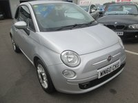 2010 FIAT 500 1.2 S 3d 69 BHP £3795.00